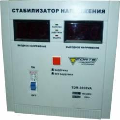 Стабилизатор напряжения однофазный FORTE TDR-3000VA
